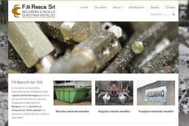 resca sito web